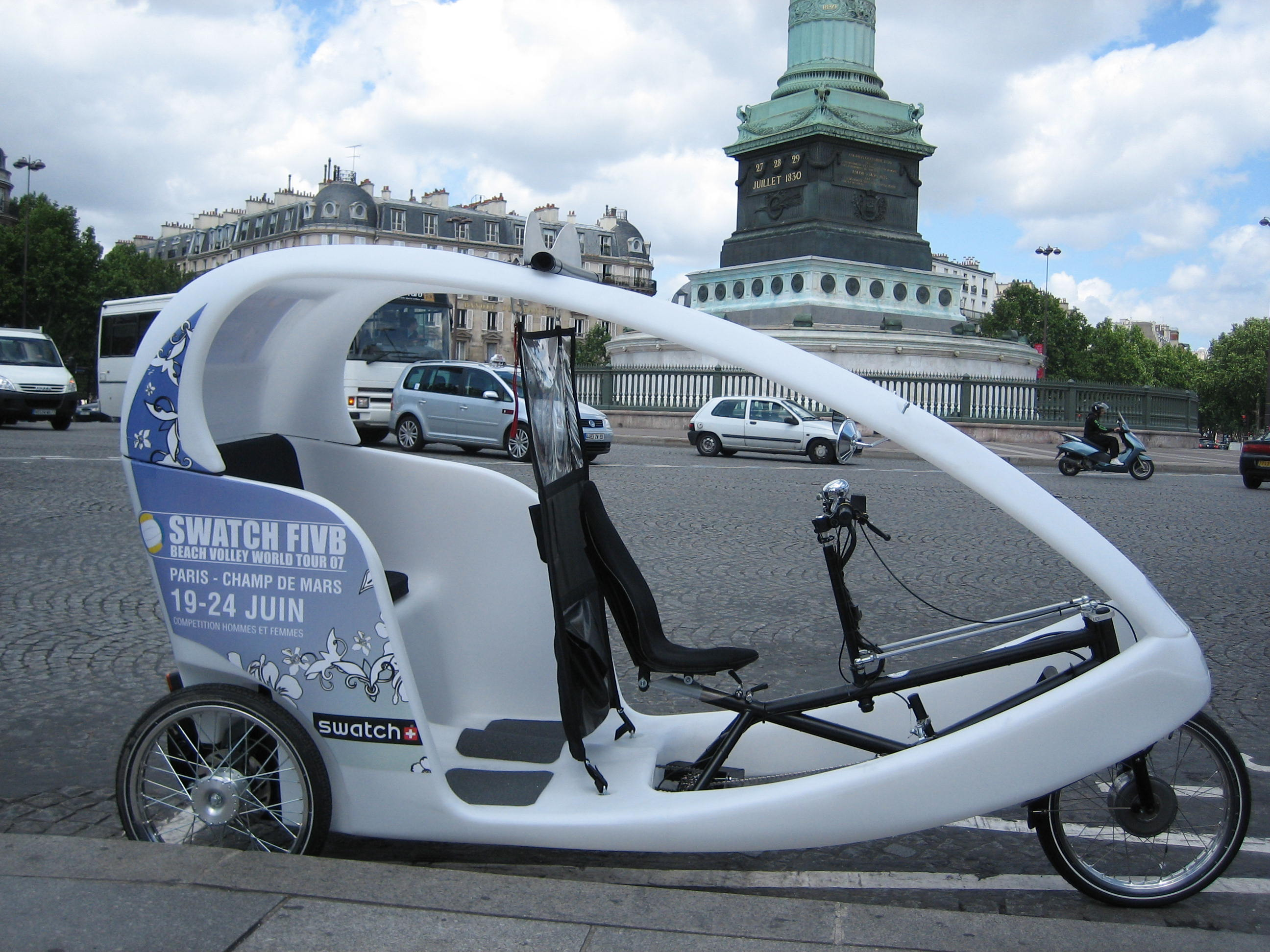 vélos taxis Paris