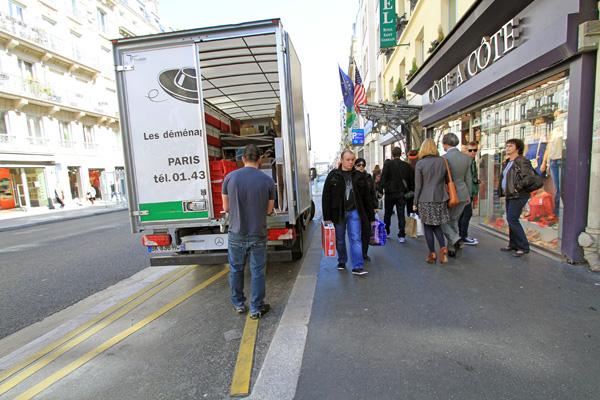 livraison marchandises paris