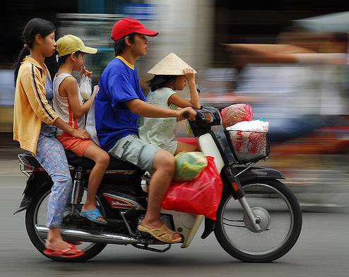 circuler enfant moto